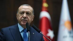 الرئيس التركي رجب طيب أردوغان 25 كانون الأول/ديسمبر 2018