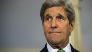 """""""L'EI est aussi responsable de crimes contre l'humanité"""", a affirmé John Kerry jeudi 17 mars 2016."""