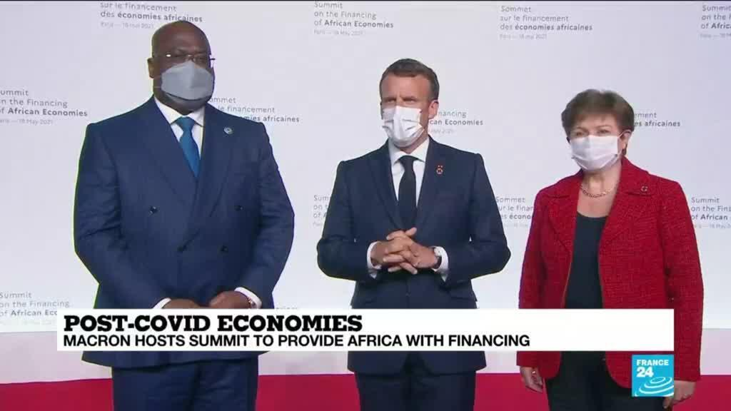 2021-05-18 16:01 'New deal' hopes for Africa as Paris summit tackles finance gap