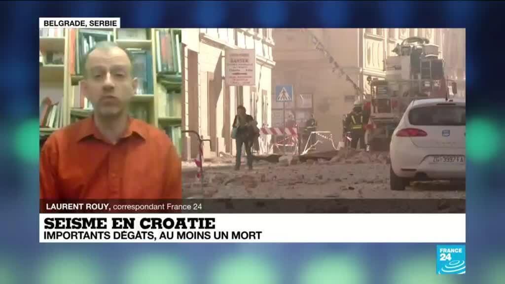2020-12-29 17:10 Séisme de magnitude 6,4 en Croatie, une enfant décédée