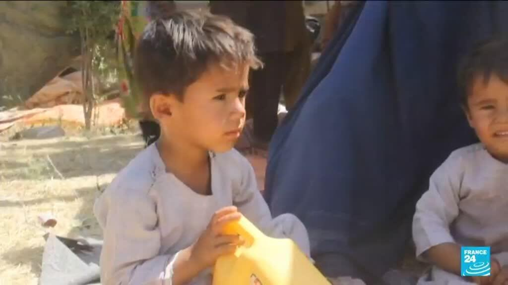 2021-06-27 18:05 Thousands displaced by Taliban violence around northern Afghan city