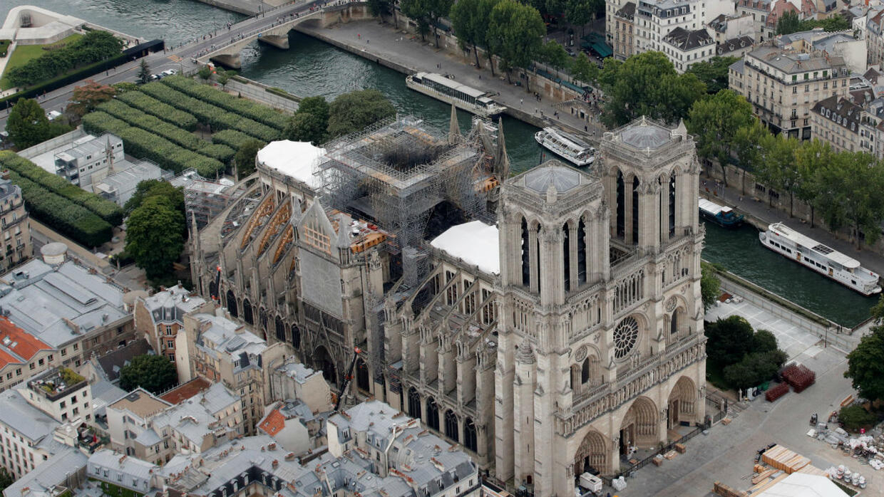 French Lawmakers Approve Controversial Bill To Rebuild Notre Dame