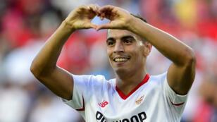 L'attaquant du Séville FC Wissam Ben Yedder.