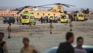 Dans le Sinaï, les jihadistes de l'Ei infligent régulièrement des pertes aux forces de l'orde égyptiennes.