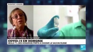 2021-01-22 14:01 Covid-19 : la Hongrie commande 2 millions de doses du vaccin russe Spoutnik V
