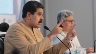 Le président vénézuélien, Nicolas Maduro, le 31 juillet 2017 à Caracas.