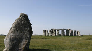Researchers believe some stones used at Stonehenge, near Salisbury in southwest England, were used in an earlier monument 175 miles (280 kilometres) away in southwest Wales