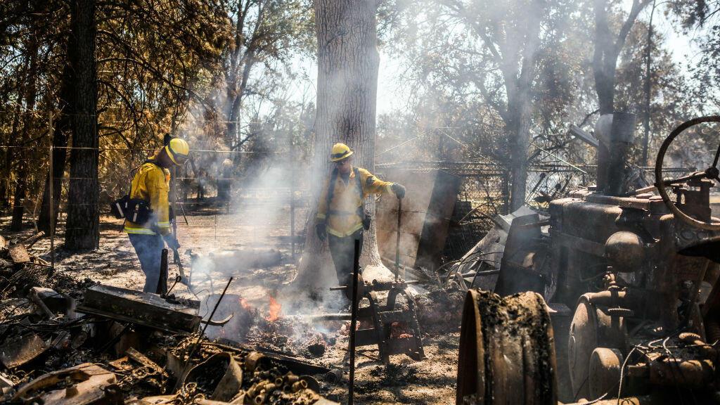 Les feux de Clayton, à 172 kilomètres au nord de San Francisco, ont détruit 1 600 hectares,