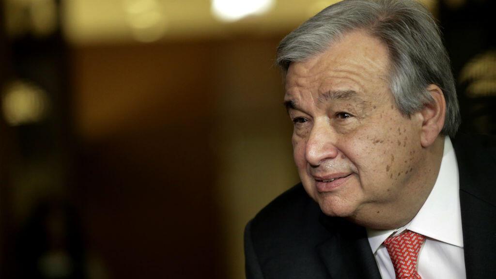 رئيس الوزراء البرتغالي السابق والمرشح لمنصب الأمين العام للأمم المتحدة أنطونيو غوتيريس