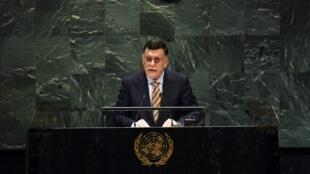 فايز السراج أمام الجمعية العامة للأمم المتحدة- 2019/09/25.