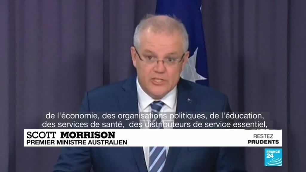 """2020-06-19 10:11 L'Australie victime d'une vague de cyberattaques provenant d'un """"acteur étatique"""""""