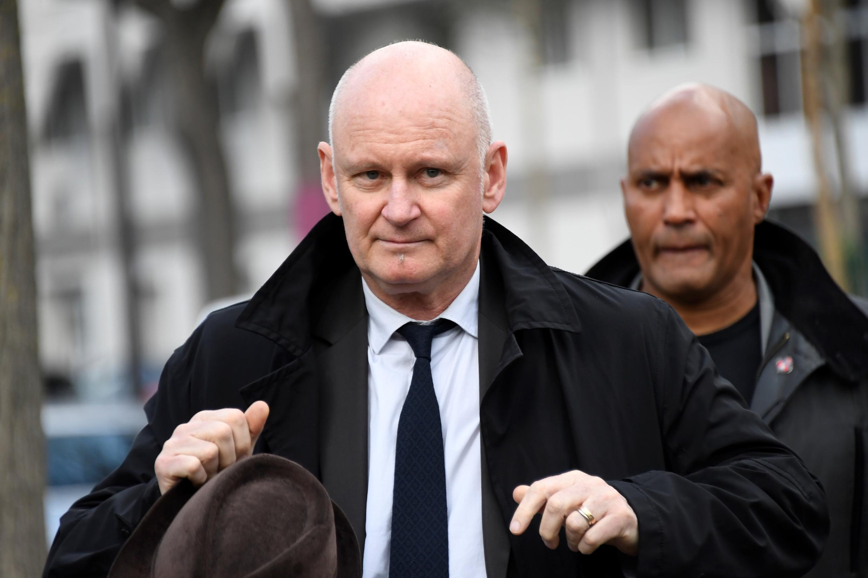 """Christophe Girard est désormais personnellement visé par la justice pour des """"soupçons de viol"""". Ici, à Paris, le 2 avril 2019."""