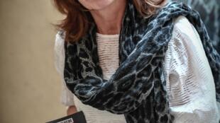 """Aline le Guluche, auteure de """"J'ai appris à lire à 50 ans"""", le 28 septembre 2020 à Paris"""