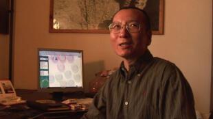 Le dissident chinois Liu Xiaobo, en 2008.