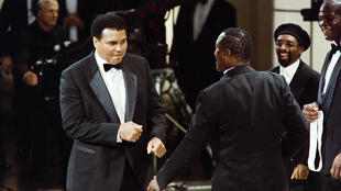 Muhammad Ali and Joe Frazier fought for the third time in Manila