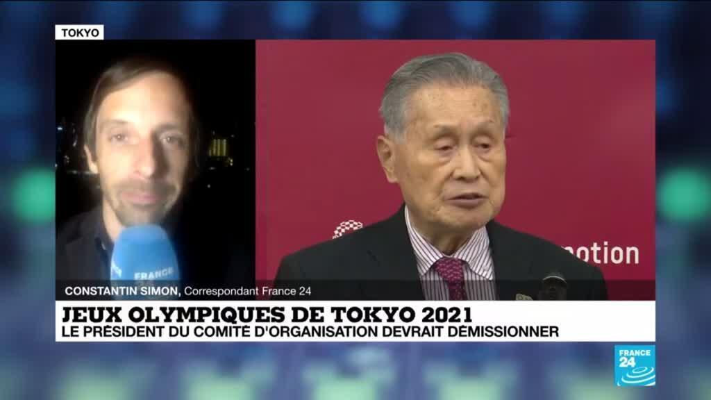 2021-02-11 12:11 Jeux olympiques de Tokyo : le président du comité d'organisation sur le départ après ses propos sexistes