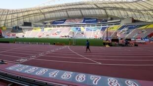 ملعب خليفة الدولي بالدوحة جاهز لضيافة بطولة العالم لألعاب القوى.