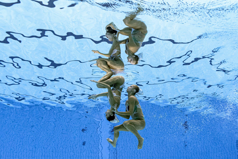 Les 12 membres de l'équipe de natation artistique grecque ont été isolés après que cinq ont été confirmés avoir une infection corona