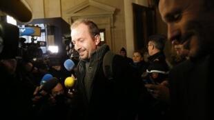 Eric Breteau à l'ouverture du procès en appel le 20 novembre