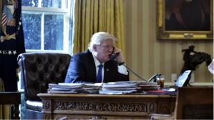Donald Trump n'utiliserait pas en permanence son téléphone sécurisé.
