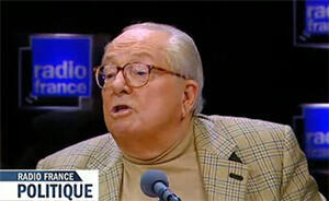 """""""You know, we've bombed civilians in other circumstances. I don't find it abnormal that the Syrian state is defending itself."""" Jean-Marie Le Pen on Radio France Politique (Feb. 26)."""