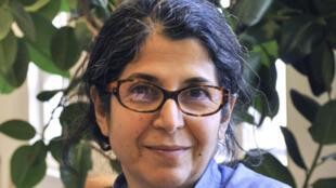 الباحثة الفرنسية الإيرانية فاريبا عادلخاه، 19 أيلول/سبتمبر 2012.
