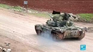 2020-02-17 11:39 Syrian government forces seize most of Aleppo province