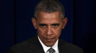 Barack Obama a une nouvelle fois dénoncé la facilité avec laquelle il est possible de se procurer des armes à feu aux États-Unis