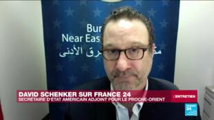 David Schenker, secrétaire d'Etat américain adjoint pour le Proche-Orient