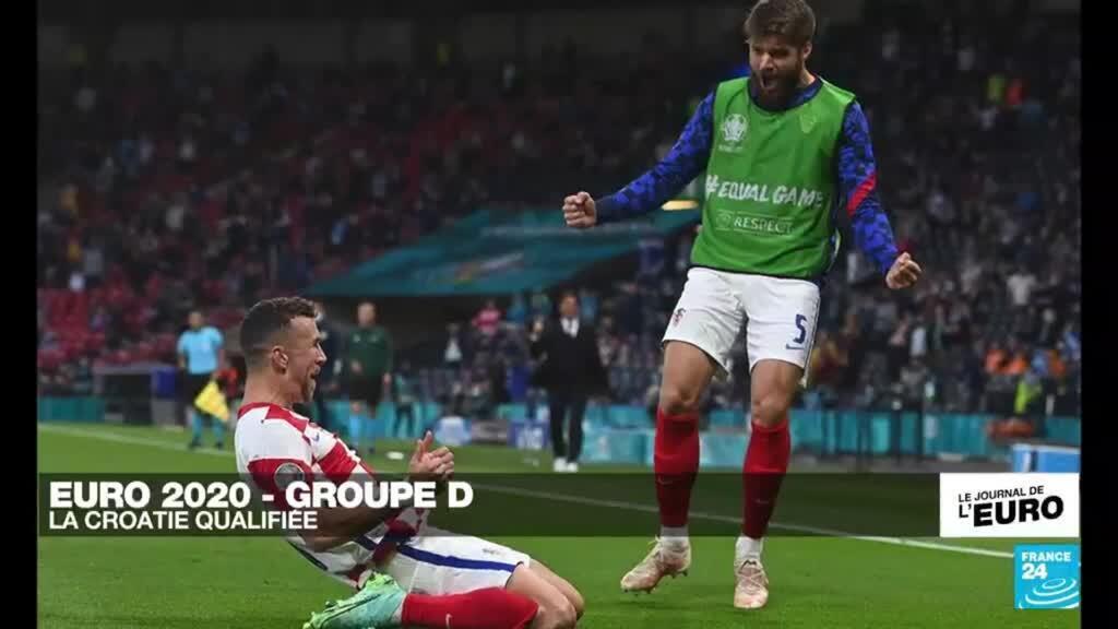 2021-06-22 23:49 EURO-2021 : Groupe D - La Croatie qualifiée