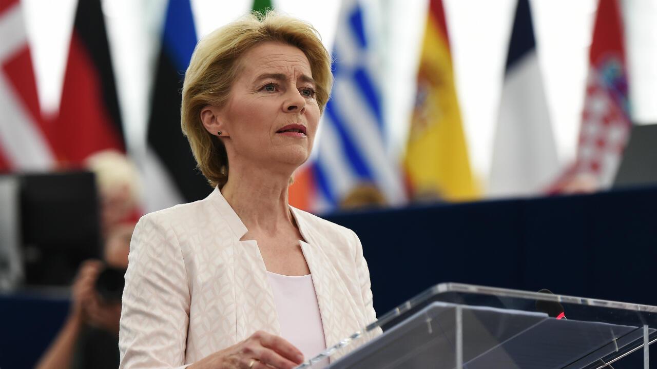 Ursula von der Leyen to head EU  Commission