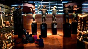Le musée du quai Branly, à Paris, possède quelque 70000 œuvres d'art africaines.