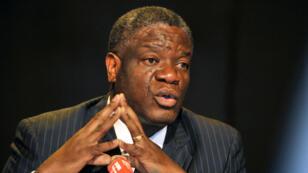 Le docteur Denis Mukwege le 12 mars 2013 à Kinshasa.