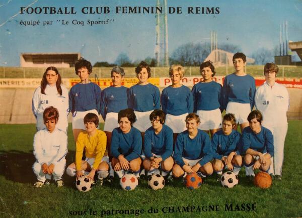 L'équipe de Reims pour la saison 1968-1969