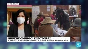 Bolivia: Movimiento al Socialismo (MAS) derrotado en balotaje de cuatro departamentos