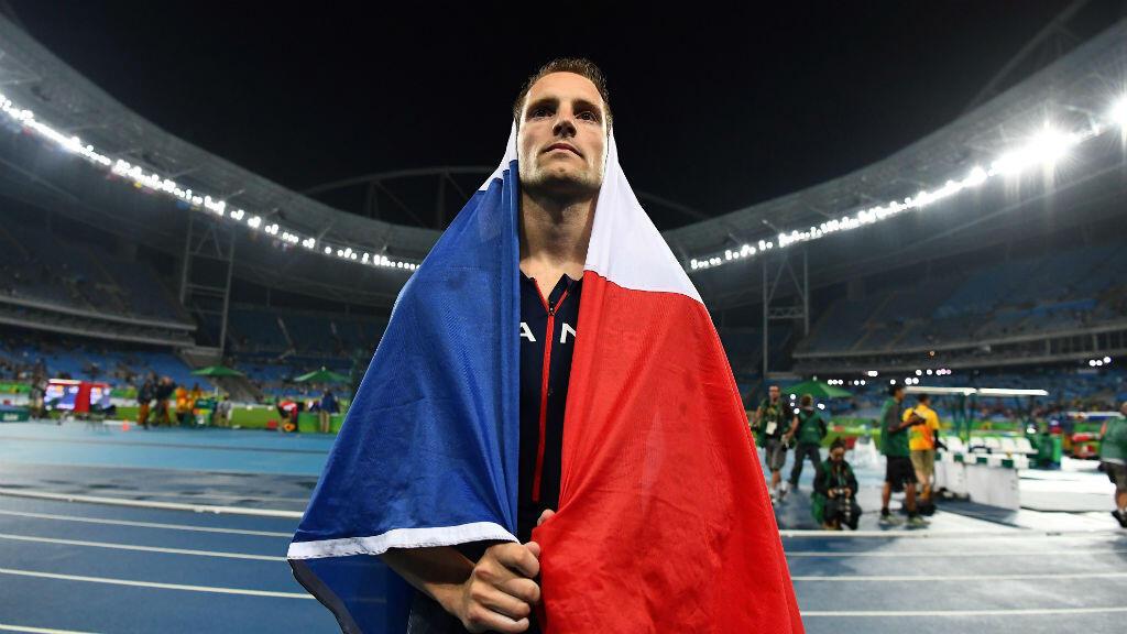 Renaud Lavillenie n'a pris que l'argent en finale du concours de saut à la perche.