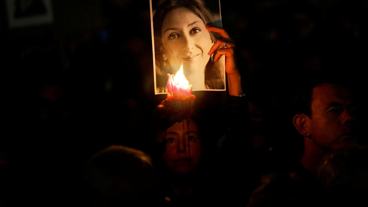 Police arrest Maltese businessman in case of murdered journalist Daphne Caruana Galizia