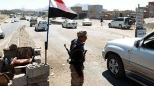حاجز أمني في صنعاء