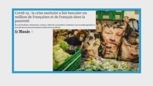 En France, le nombre de bénéficiaires de l'aide alimentaire explose