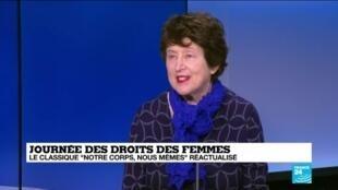 2020-03-08 13:01 H. de Gunzbourg et N. Desquenes sur France 24 pour la Journée Internationale des Droits des Femmes