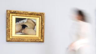 """Le célèbre tableau """"L'origine du monde"""" fut exécuté par Gustave Courbet au cours de l'été 1866."""