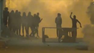 Manifestations à Tébourba, le 10 janvier.