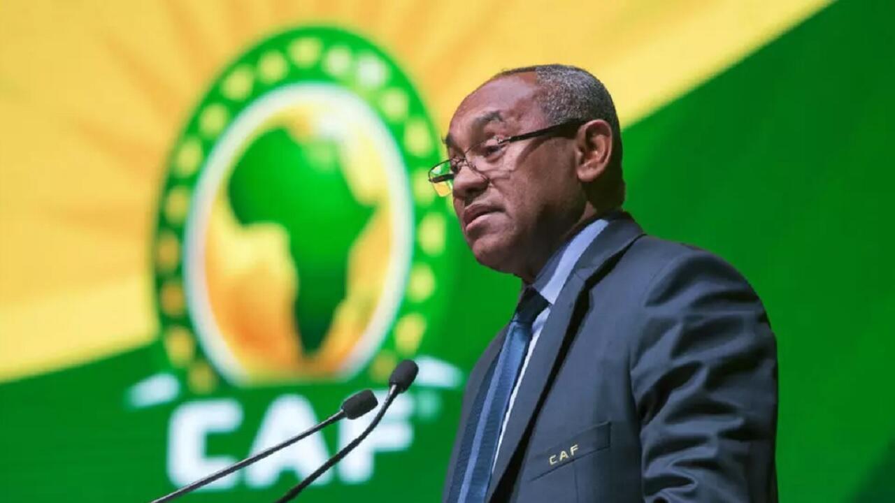 رئيس الاتحاد الإفريقي لكرة القدم (الكاف) الملغاشي أحمد أحمد.