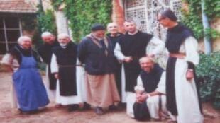 Les sept moines assassinés au monastère Notre-Dame de l'Atlas, à Tibéhirine, en 1996.