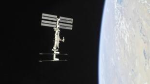 صورة وزعتها ناسا في 4 تشرين الثاني/نوفمبر 2018 لمحطة الفضاء الدولية التقطها أفراد طاقم مركبة سويوز.