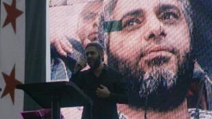 فضل شاكر في صيدا في 9 حزيران/ يونيو 2013