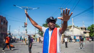 En Puerto Príncipe se vivieron momentos de tensión con la muerte de dos personas en las protestas del pasado 27 de octubre de 2019.