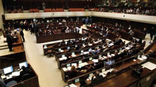 Vue générale de la Knesset, le Parlement israélien, le 3 décembre 2014.