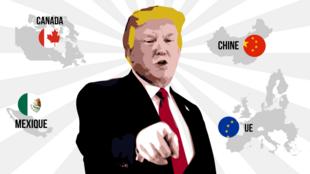 Le monde selon Trump: une guerre commerciale généralisée