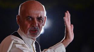 Ashraf Ghani, déclaré vainqueur de l'élection présidentielle afghane.